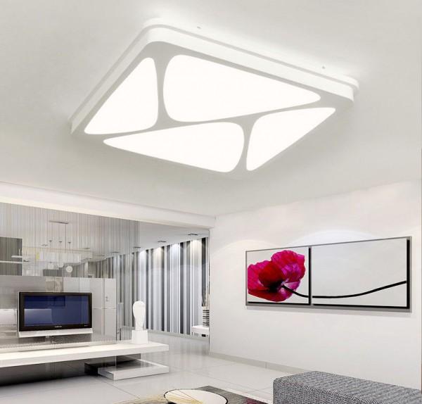 LED Deckenleuchte Küchenlampe Design 6815-30W-Dimmbar mit Fernbedienung