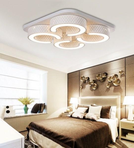 LED Design Deckenleuchte 6817-48W-Volldimmbar mit Fernbedienung