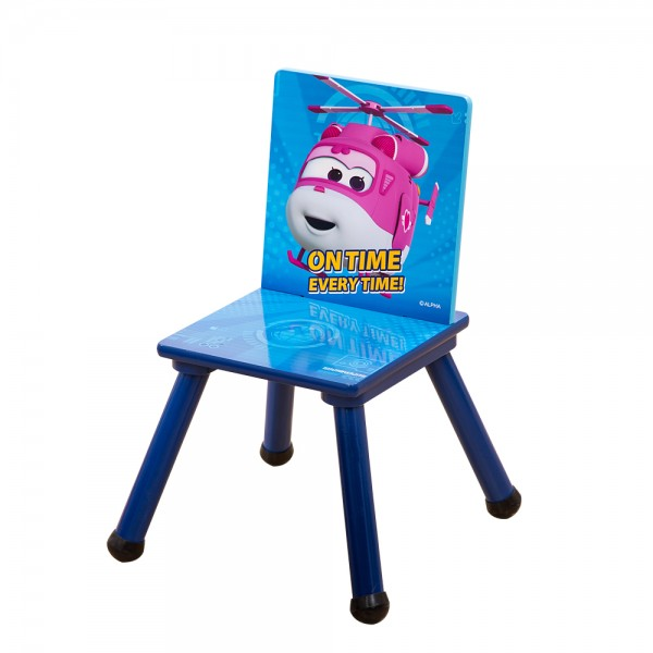Super Wings Kinderstuhl Holzstuhl für Kinder C3DY001 53x27x27cm