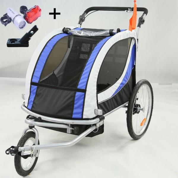 Kinderwagen Jogger Fahrinkl. Kupplung JG01-BW-002