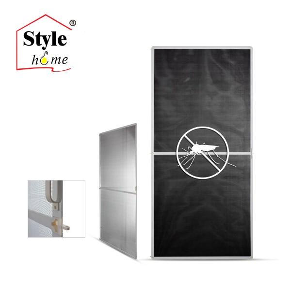 insektengitter f r t r mit alu rahmen braun 100 210 style. Black Bedroom Furniture Sets. Home Design Ideas