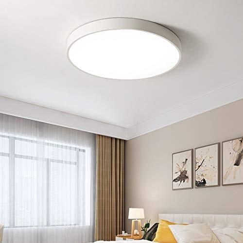18W ultra dünn Deckenleuchte Deckenlampe rund warmweiß 3000k weiß