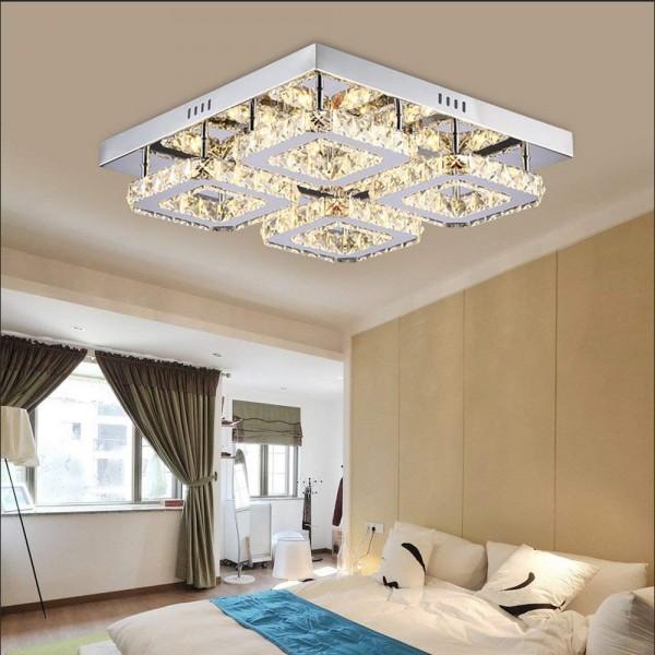 Ameride Kristall LED Deckenleuchte 32W US-6813-4C