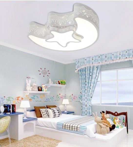 Kinderzimmer led deckenlampe weiss voll dimmbar mit for Kinderzimmer deckenlampe