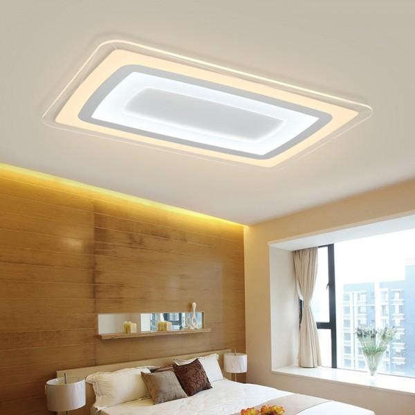 LED Deckenlampe 6901 85W ultra-dünn voll dimmbar mit Fernbedienung