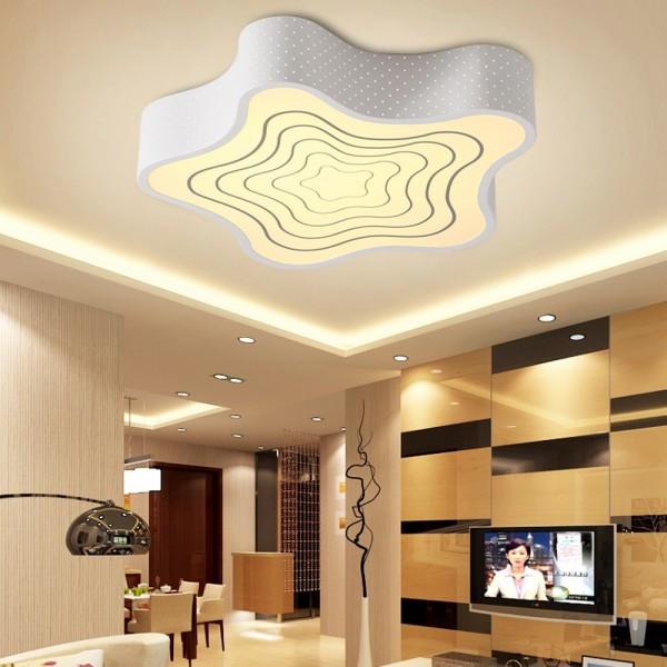 LED Deckenlampe Seestern 6818 24W nicht dimmbar Warmweiss