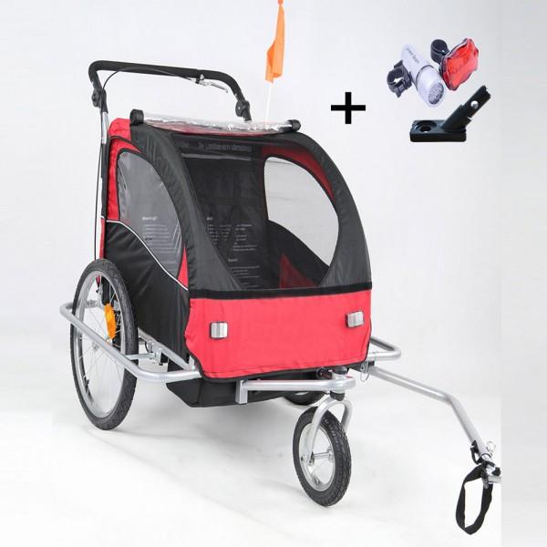 Kinderwagen Jogger Fahrinkl. Kupplung JG02-RS-001