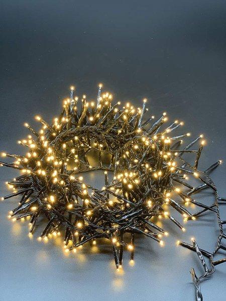 Style home 400 LED Lichterkette Innen und Außen 16,7m Lichterketten mit 8 Leuchtmodi,Timer Funktion,