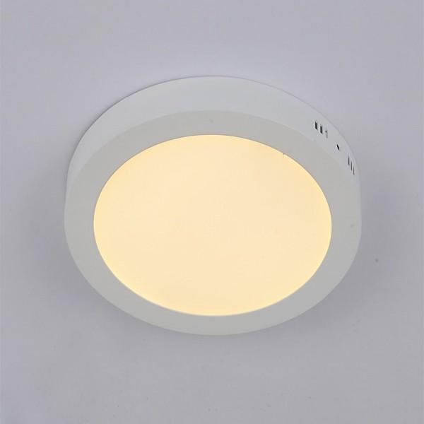 LED Küchenleuchte Deckenlampe Aufbauleuchte warmweiss 12W rund