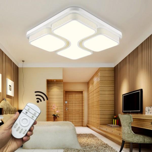LED Deckenleuchte 6908F-54W-White volldimmbar Fernbedienung