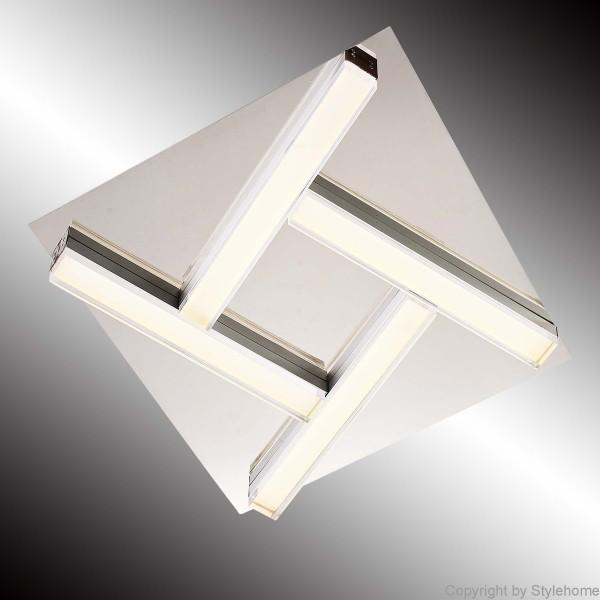 LED Deckenleuchte eingebaute LED-Lampen X48022 40cm*40cm*6cm | Style ...