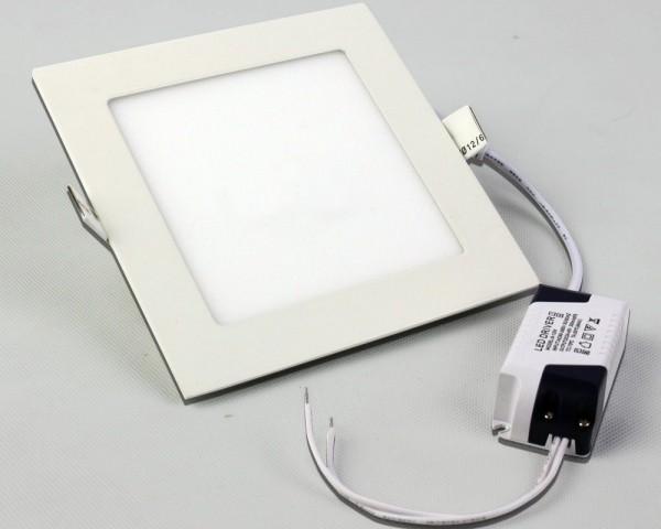 480LM LED Panelleuchte Deckenleuchte Viereckig warmweiss