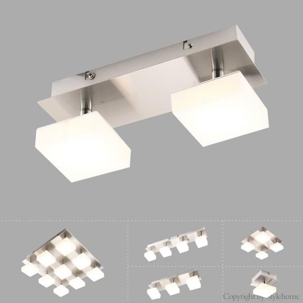 LED Deckenleuchte Spot Wandlampe SD-8138C-2C Warmweiss