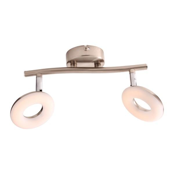 LED Deckenlampe drehbaren Spots 2-llammig 3035-2C-10W Warmweiss