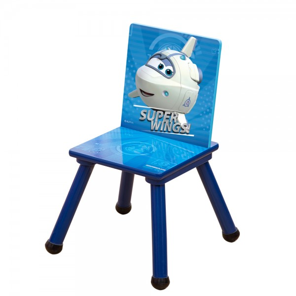 Super Wings Kinderstuhl Holzstuhl für Kinder C3DY003 53x27x27cm