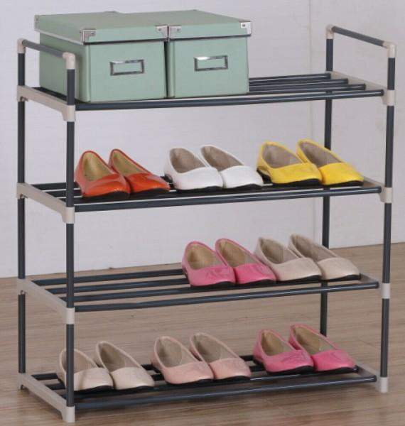 Schuhregal Schuhständer Schuhablage Schuhschrank mit 4/8 Ebene für bis 24 Paar Schuhe