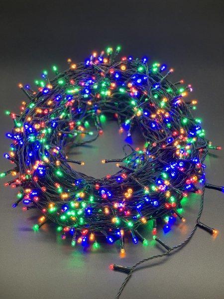 750er LED Lichterkette Bunte Lichterketten 8 Leuchtmodi für Indoor & Outdoor Wasserdicht IP44