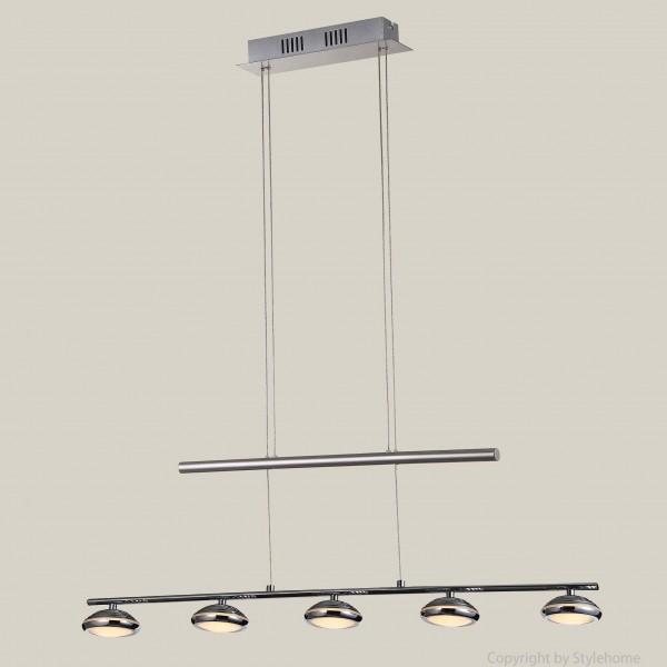 LED Pendellampe Hängelampe D48046 Höherverstellbar 5*5W Warmweiss