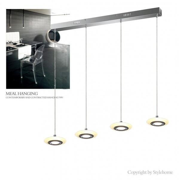 LED Hängelampe Kronleuchte Deckenlampe 4829-04A-20W Warmweiss