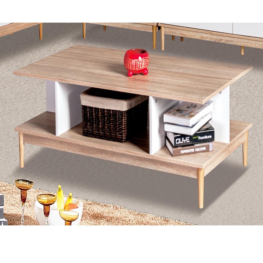 couchtisch sofatisch wohnzimmertisch offenes design holz wei sh47m15035 wie style. Black Bedroom Furniture Sets. Home Design Ideas