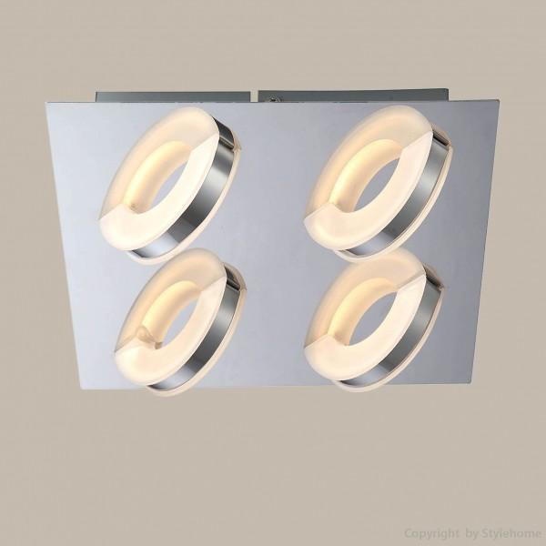 LED Deckenlampe strahler Design 4 Flammig X48077