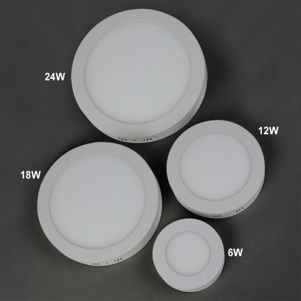 LED Deckenlampe rund 6W Warmweiss