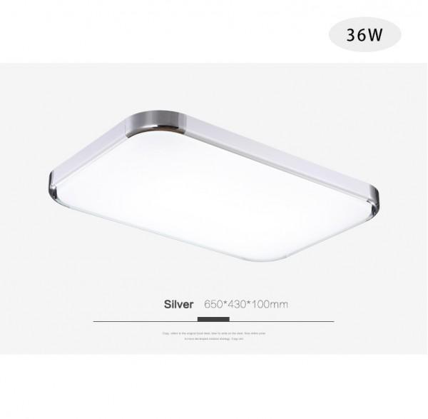 LED Deckenleuchte 6506-36W dimmbar mit Fernbedienung