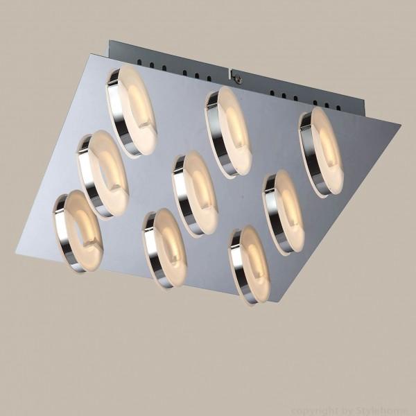 LED Deckenlampe strahler Design 9 Flammig X48084