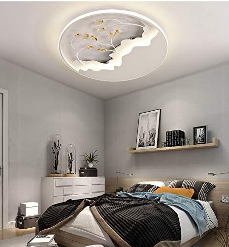 50W LED Ultral dünn kristal Deckenlampe Design Deckenlampe Deckenleuchte voll dimmbar mit Fernbedien
