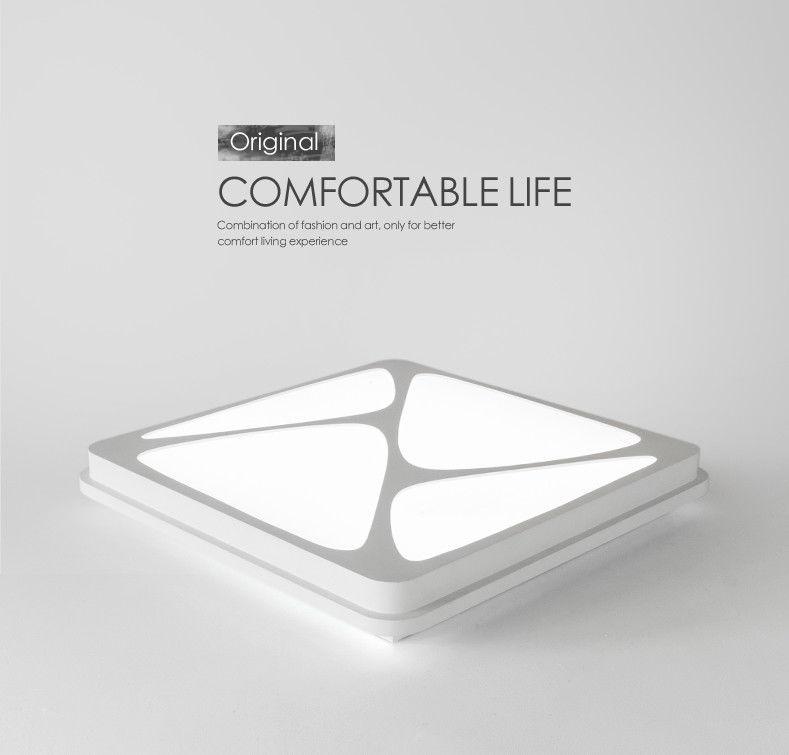 led deckenleuchte k chenlampe design 6815 30w dimmbar mit fernbe style. Black Bedroom Furniture Sets. Home Design Ideas