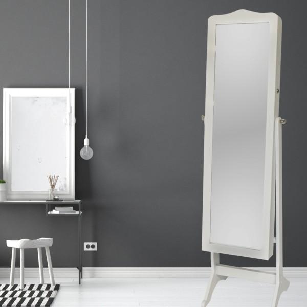 Schmuckschrank Spiegelschrank Standspiegel Winkel Einstellbar
