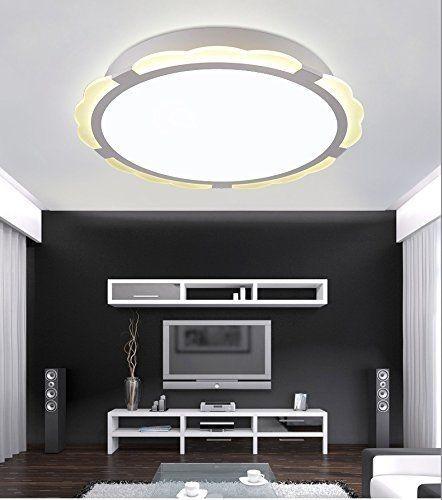LED Design Deckenleuchte 6912-48W-Dimmbar Fernbedienung