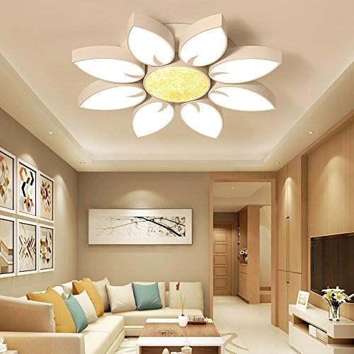 54W LED Deckenlampe Kronleuchter Volldimmbar mit Fernbedienung Kristall Leuchte PS6926-R6
