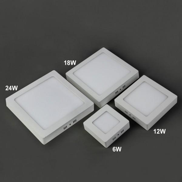 LED Deckenleuchte 18W Quadratisch