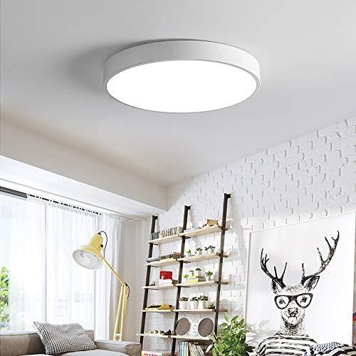 36W ultra dünn Deckenleuchte Deckenlampe rund warmweiß 3000k weiß