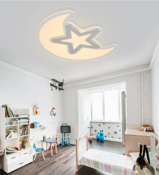 60W LED Deckenlampe ultra-dünn nicht dimmbar Warmweiss Mondstar ultraflach 6822