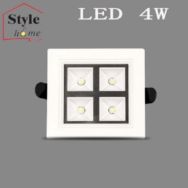 LED Einbaustrahler Panel D004-4W Kaltweiss