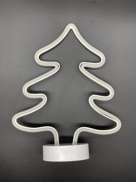 Style home LED Weihnachtsbaum Tanne Nachtlicht Batteriebetriebenes Deko Licht für Weihnachten