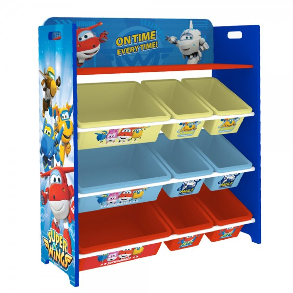 Super Wings Kinderregal Spielzeugregal Bücherregal C3DTJ001 BHT:83x95x30cm