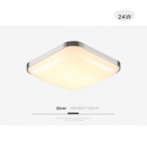 LED Deckenlampe 6501-24W Silber