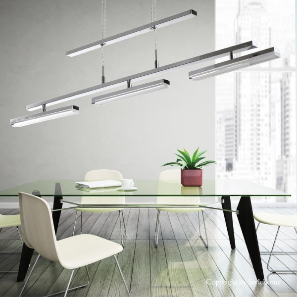 LED Hängelampe Kronleuchte Deckenlampe 4239-03A-24W Warmweiss