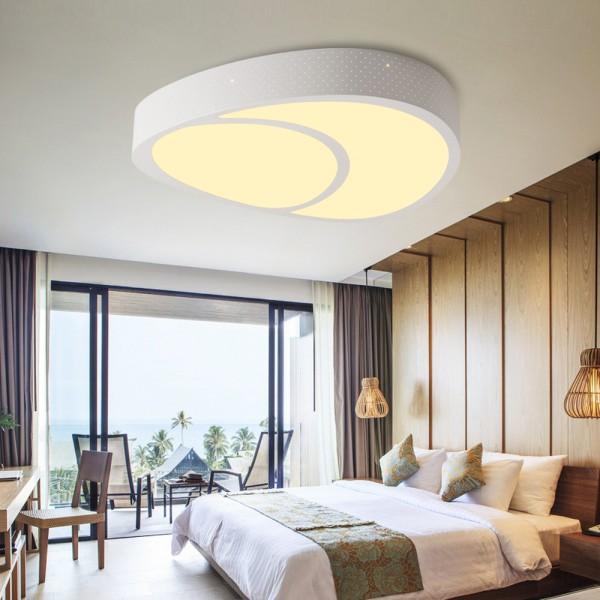 LED Deckenlampe 6812 60W voll dimmbar mit Fernbedienung
