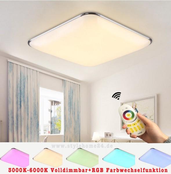 RGB LED Deckenleuchte 6310-54W-Volldimmbar mit Farbwechselfunktion