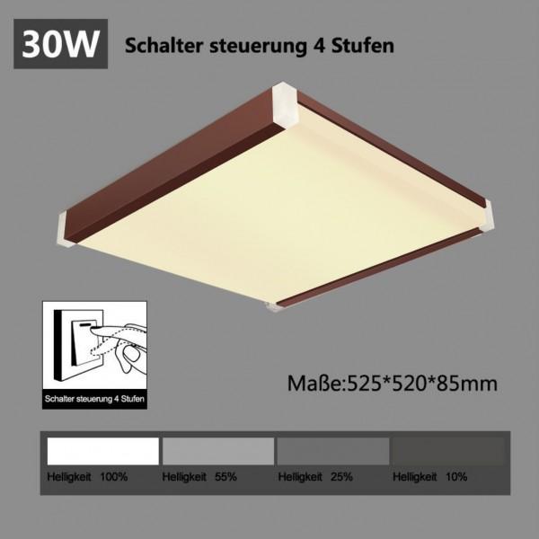 LED Deckenleuchte i502-30W Schaltersteuerung in 4 Stufen