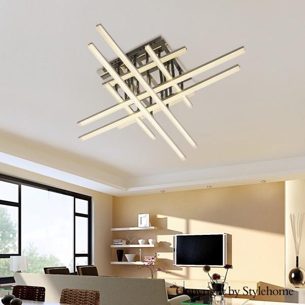 Luxus LED Deckenleuchte D48008 absolut Design Warmweiss