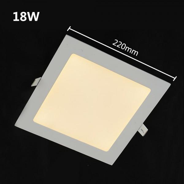 1440LM LED Panelleuchte Deckenleuchte Viereckigwarmweiss