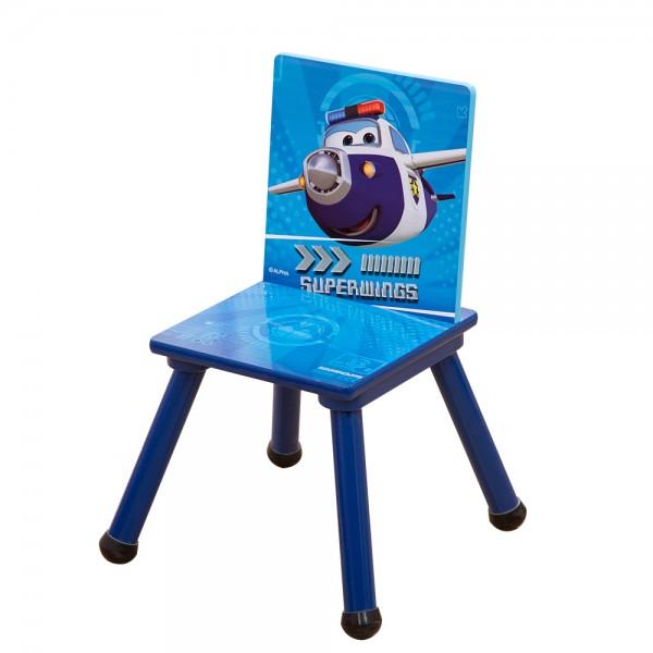 Super Wings Kinderstuhl Holzstuhl für Kinder C3DY002 53x27x27cm