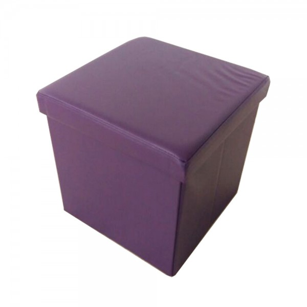 Sitzbank Sitzhocker Aufbewahrungsbox mit Stauraum faltbar belastbar bis 300 kg Kunstleder