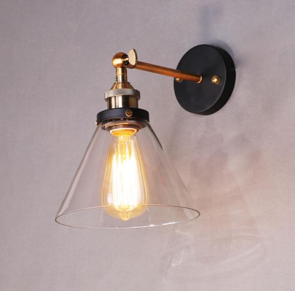 Retro Wandlampe Metall Vintage Stil RL-W003