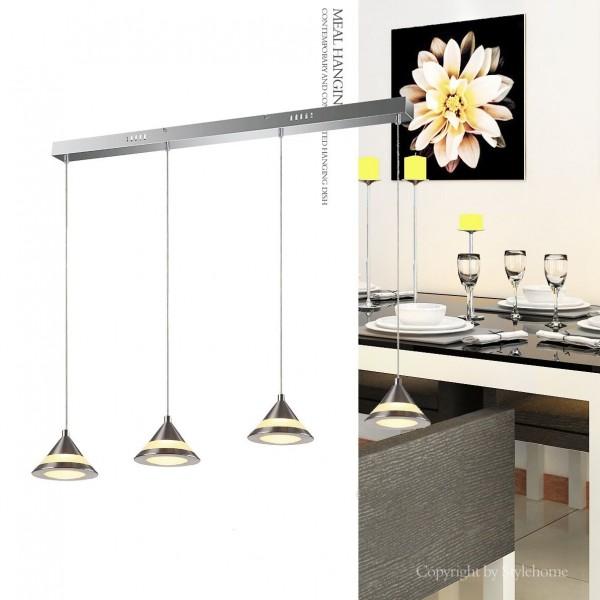LED Hängelampe Kronleuchte Deckenlampe 4359-04A-20W Warmweiss